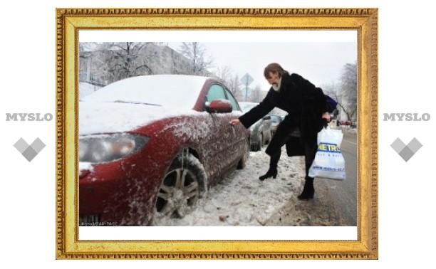 Субботнее бедствие в Туле: осторожно, ГОЛОЛЁД!