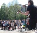 В Туле ветеранов развлекали рок-исполнители