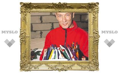 Дошел до ручки: У тульского коллекционера авторучек уже около тысячи!