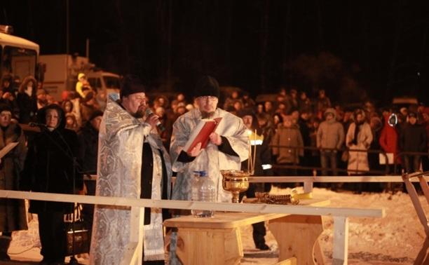 Туляки окунулись в крещенскую прорубь