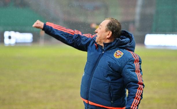 Наставник «Арсенала» Сергей Павлов выбран лучшим тренером марта