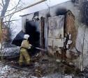 В воскресенье утром в Богородицком районе сгорел дом