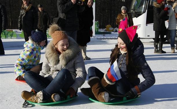 В Белоусовском парке прошла студенческая «Татьяниада»