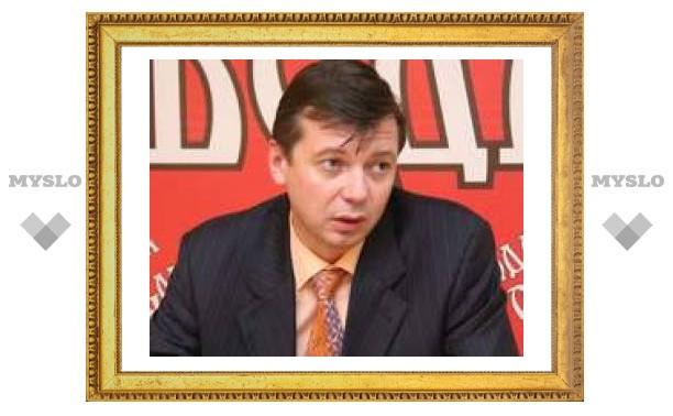Глава администрации Тулы отказался от звания