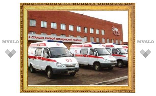 Для больниц Тульской области закупят 167 автомобилей скорой медицинской помощи