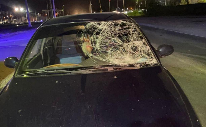 На Алексинском шоссе в Туле мужчина попал под колёса Kia