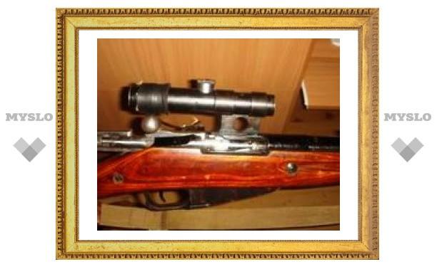 Под Тулой изъяли партию оружия