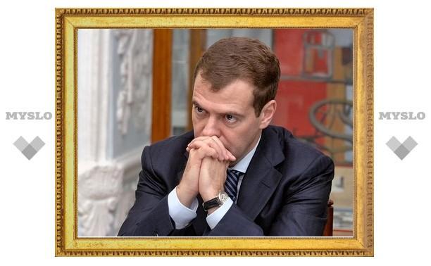 """Медведев назвал гибель пассажиров """"флотилии свободы"""" немотивированной"""