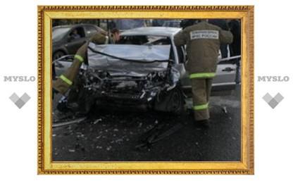 В аварии под Тулой погибли пять человек