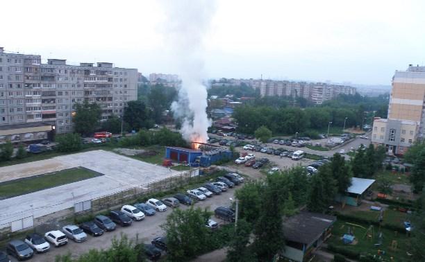 Утром 27 мая в Заречье вспыхнули три иномарки
