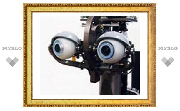 """В США спроектировали робота с """"человеческими"""" глазами"""