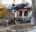 В Туле на ул. Ак. Павлова сгорел дом: погорельцам нужна помощь