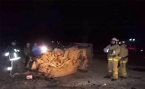 18 марта в ночных ДТП на дорогах Тульской области погибли двое мужчин