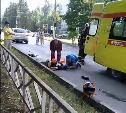 В Новомосковске мотоцикл врезался в легковушку: погиб один человек