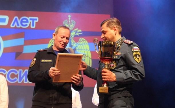 Тульская пожарно-спасательная часть признана лучшей в ЦФО
