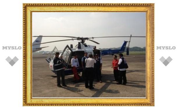 Первые спасатели МЧС РФ прибыли в Индонезию