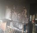 Детская кроватка сгорела на улице Депо в Новомосковске