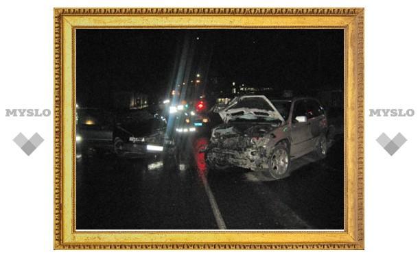 В результате ночного ДТП в городе пострадали пять человек