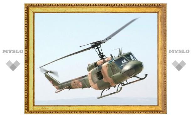 В Турции потерпел крушение военный вертолет