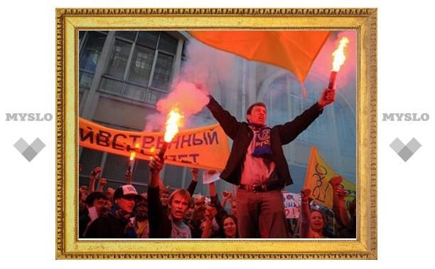 На Красной площади задержали 25 студентов РГСУ