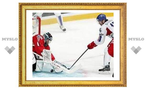 Сборная Чехии одержала вторую победу на чемпионате мира по хоккею