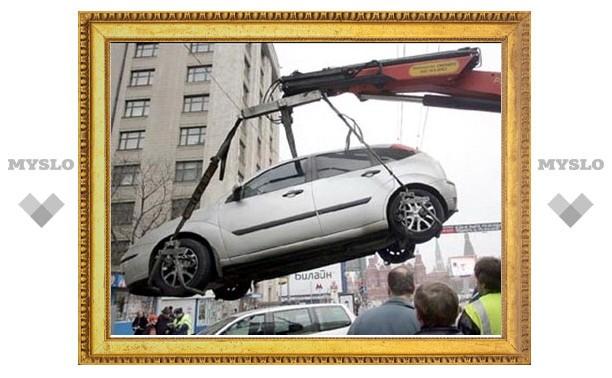 Неправильно припаркованные автомобили будут отправлять на штрафстоянку