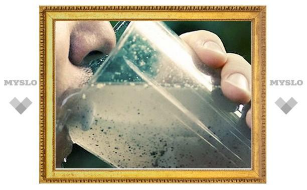Жителей Тульской области поили водой, опасной для здоровья