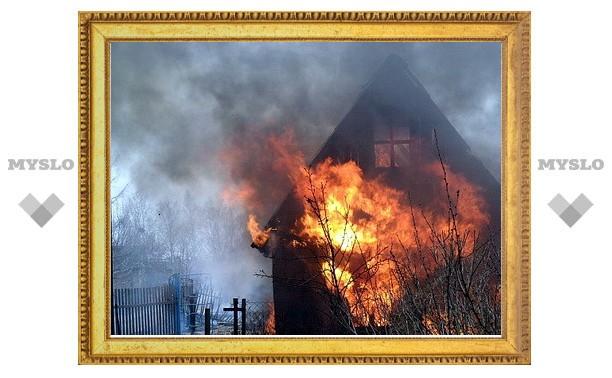 В поселке Горняк пенсионер сгорел на даче