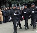 В Туле прошёл торжественный парад в честь Дня полиции: фоторепортаж