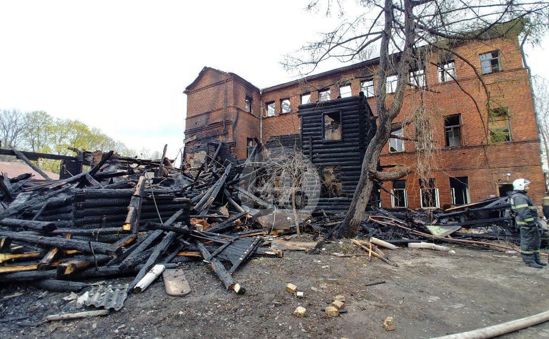 Серия пожаров в центре Тулы: жильцы обвиняют в поджогах черных риэлторов