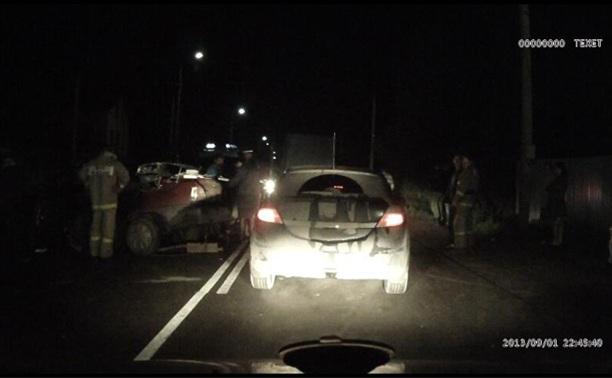 В ДТП под Тулой ранены четыре человека