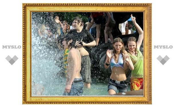 В фонтанах Тулы будут менять воду