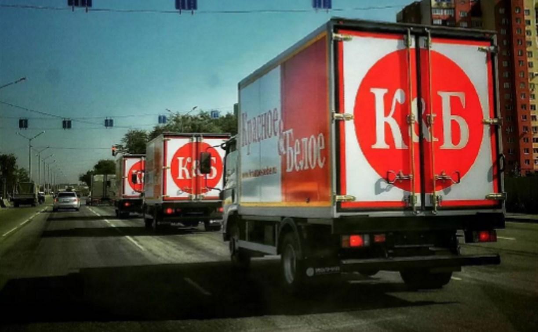 Под Ефремовом вооруженные преступники угнали грузовик «Красное и Белое»
