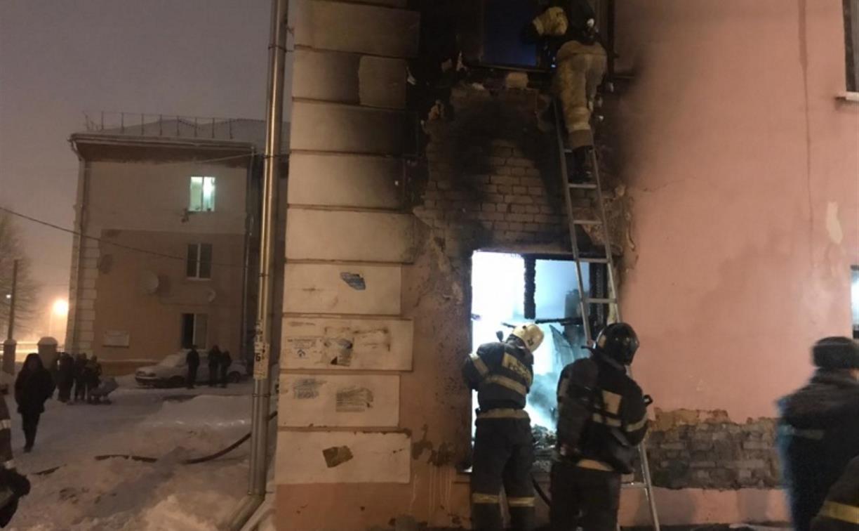 Три человека погибли на пожаре в Новомосковске