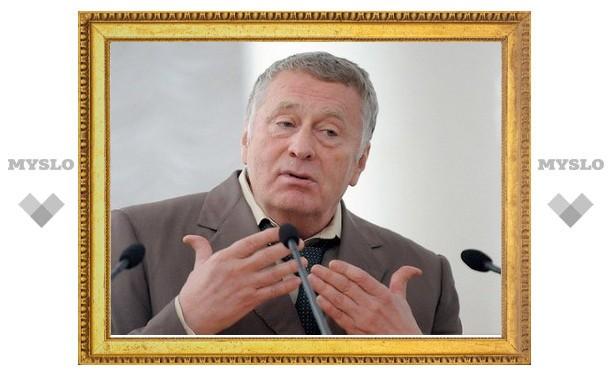 В Туле зафиксирован факт незаконной агитации за Жириновского