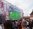 Туляки смогут посмотреть матч Россия – Испания на большом экране в кремле