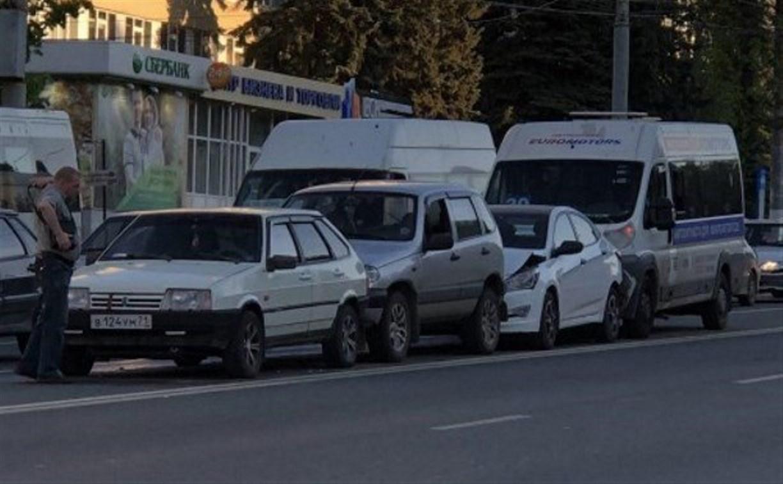 Пьяный за рулем тульской маршрутки: водитель получил 10 суток ареста
