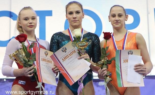 Гимнастка Ксения Афанасьева стала чемпионкой России в вольных упражнениях