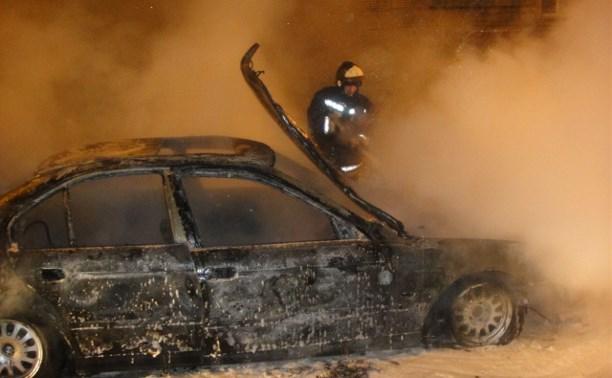 Ночью в Алексине сгорели «БМВ» и «Дэу Нексия»