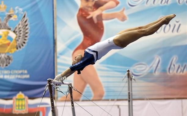 Тульская гимнастка завоевала серебро в составе сборной ЦФО на чемпионате России