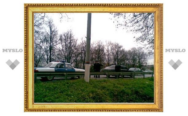 Автомобиль генерала Шаманова был срочно увезен с места аварии