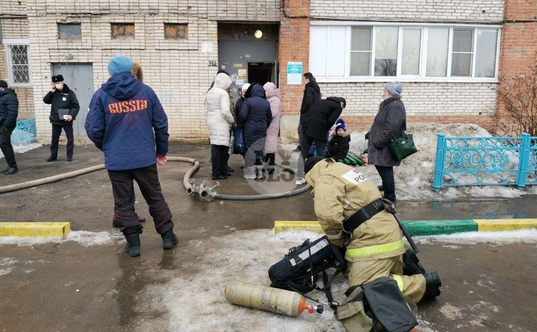 При пожаре в многоэтажке на Косой Горе погибла пенсионерка