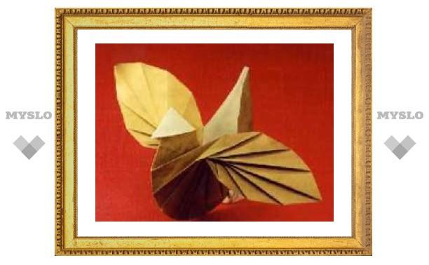 Оригами тульской школьницы отправили в Москву