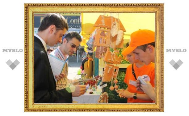 Тульская ярмарка школьных компаний учит бизнесу с малых лет!