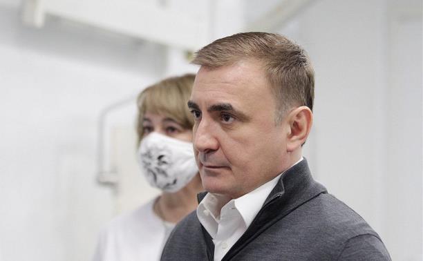 Алексей Дюмин сделал прививку от COVID-19