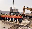 В Узловой начали строить завод по производству автомобильных двигателей