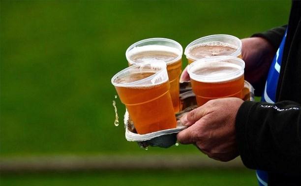 Минспорта РФ хочет вернуть продажу пива на стадионах