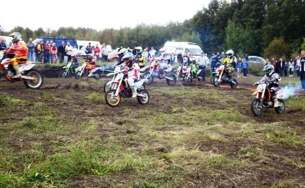 В Узловском районе соревновались любители мотоспорта