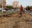 Как проходит ремонт улицы Ложевой в Туле