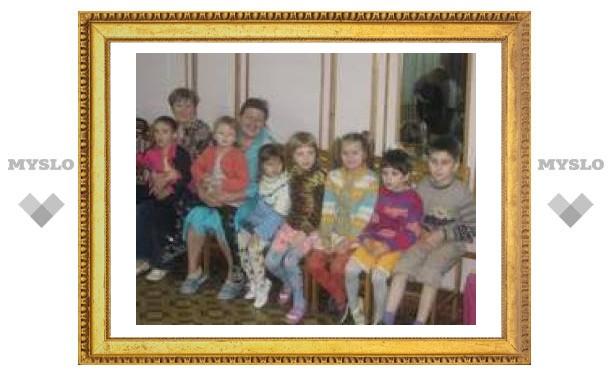 В Туле состоялся праздник для детей-инвалидов